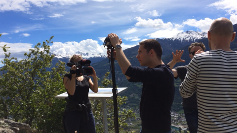 11 – 14 MAY 2017 – MASTERCLASS: VR Journalism in Crans Montana, Switzerland