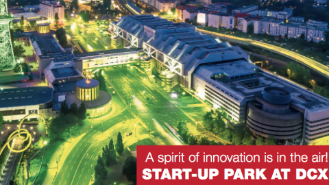 10 TO 12 OCTOBER 2017 – STARTUP PARK @ DCXExpo in Berlin, Germany