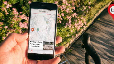 Locationews – Map-based application that changes the way your news is read