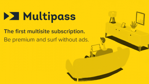 Multipass – One subscription to access paid content on multiple websites