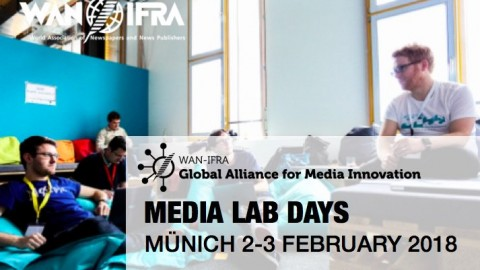 2 & 3 FEBRUARY 2018 – MEDIA LAB DAYS @ Media Lab Bayern in Munich, Germany